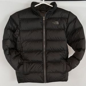 North Face youth goose down puffer coat jacket